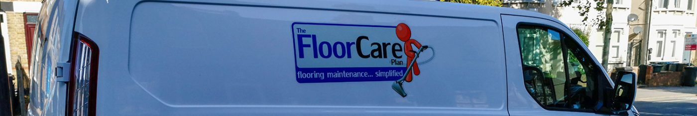 Floor Care van