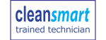 clean smart trained technician logo